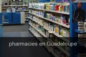 Pharmacies en Guadeloupe