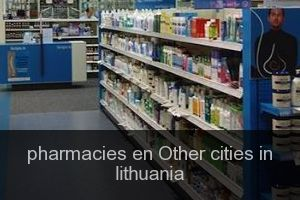 Pharmacies en Other cities in lithuania