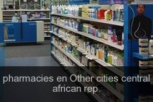 Pharmacies en Other cities central african rep.