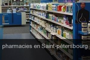 Pharmacies en Saint-pétersbourg