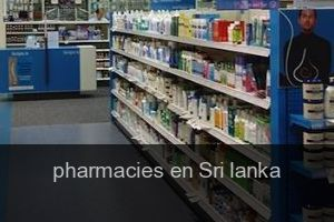 Pharmacies en Sri lanka